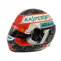 Mini Helmet - Charles Leclerc 2019