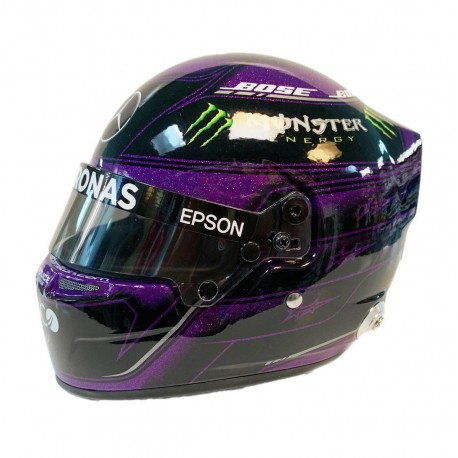 Mini Helmet - Lewis Hamilton Styrian GP 2020 BLM
