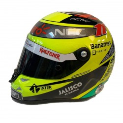 Mini Helmet - Sergio Perez 2016