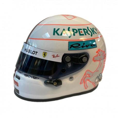 Mini Helmet - Sebastian Vettel 2019