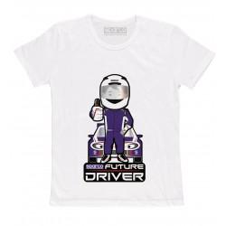 Sparco - T-Shirt Future Driver White