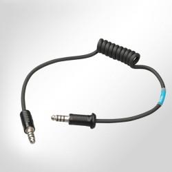 Stilo - Adattatore per connettere caschi Stilo a sistemi radio pista-Cavo lungo