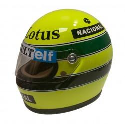 Mini Helmet - Ayrton Senna 1985