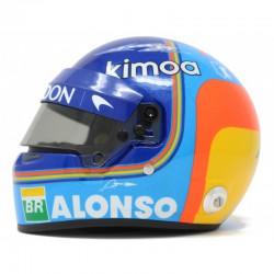 Mini Helmet - Fernando Alonso 2018
